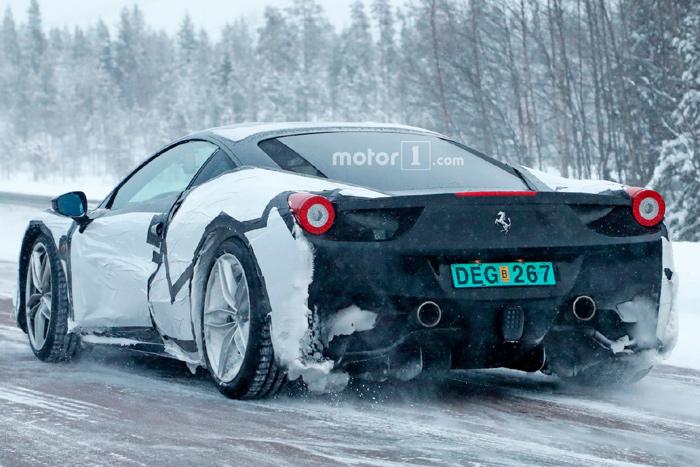 Феррари выпустит суперкар с более мощным агрегатом V8 всвоей истории