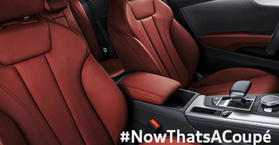 Интерьер нового Audi A5