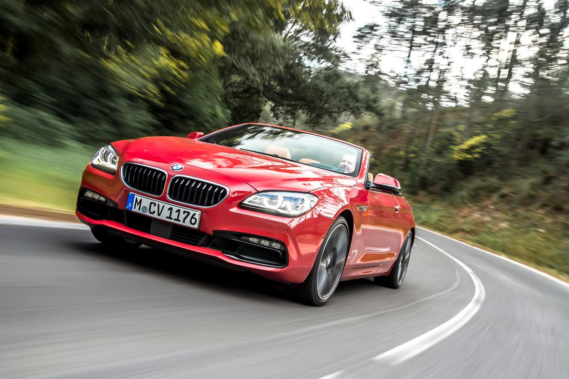 BMW, 6 series cabrio, 2015