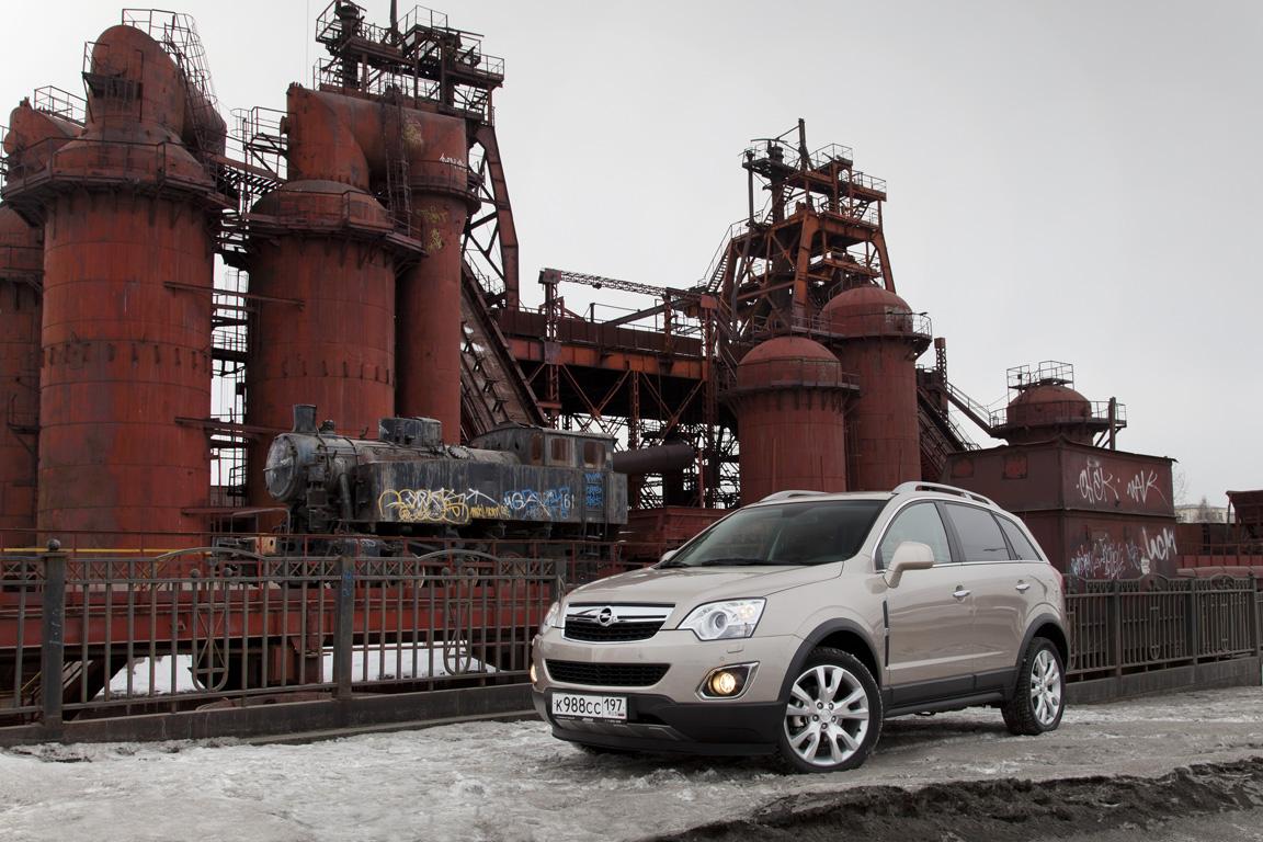 Opel Antara: Золотая середина