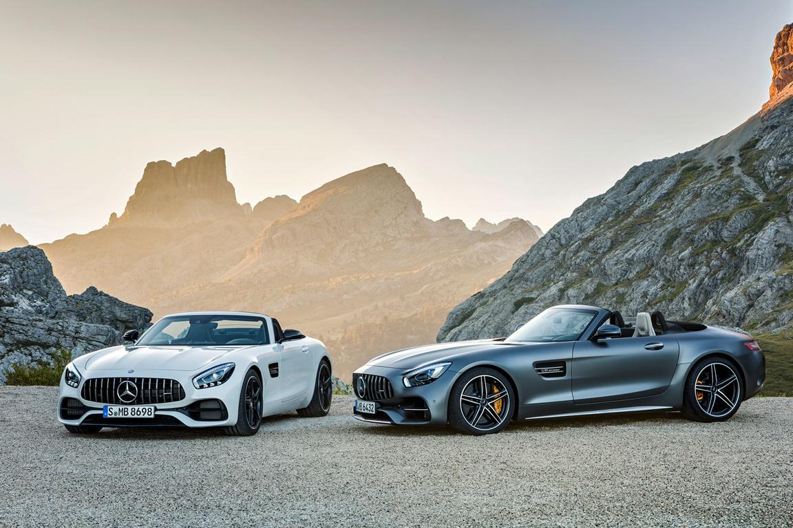 Mercedes-Benz AMG GT roadster 2017