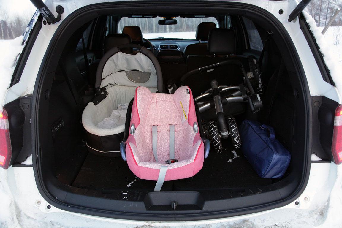 Ford Explorer: Домашний тест