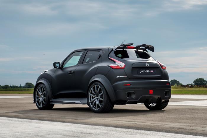 Новый Nissan Juke-R