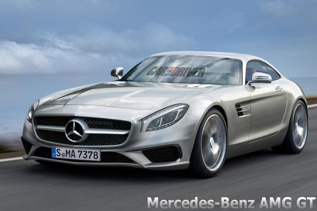 Mercedes-Benz AMG GT render