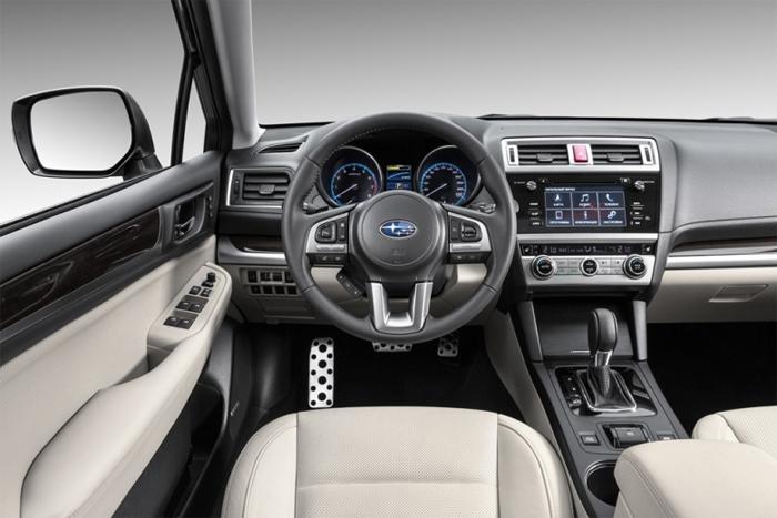 Subaru Outback 2015 Интерьер