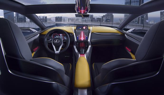 Интерьер Lexus LF-NX