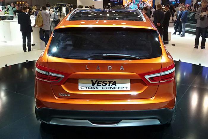 Lada Vesta Cross Concept
