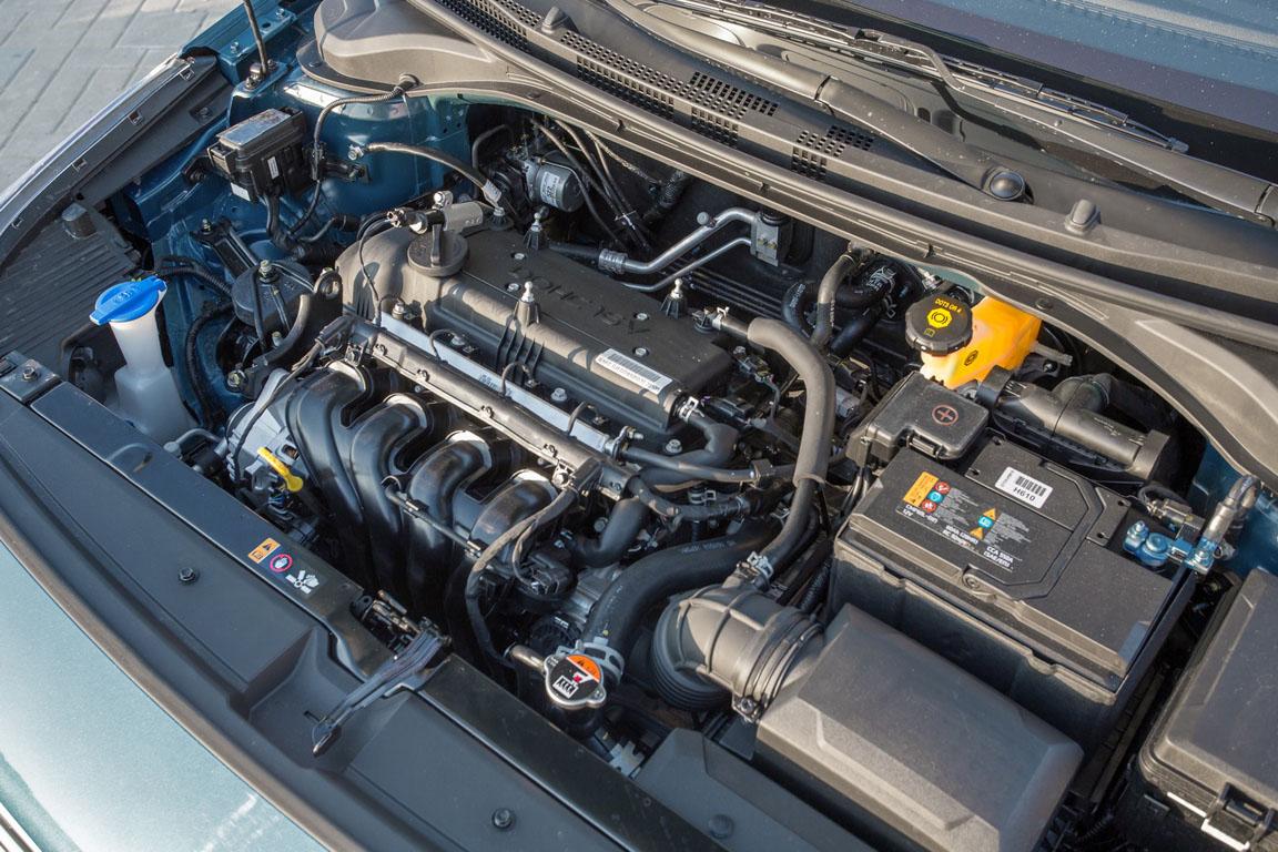 Hyundai Solaris двигатель