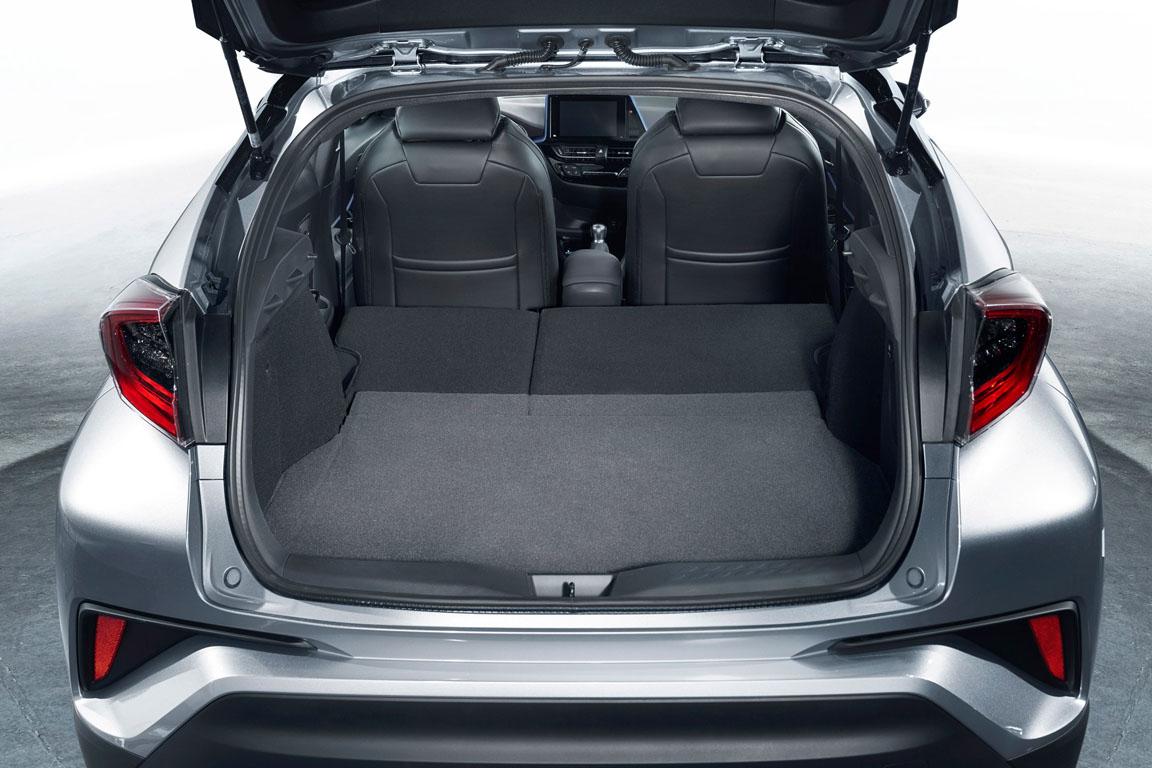 Toyota C-RH 2017 Багажник