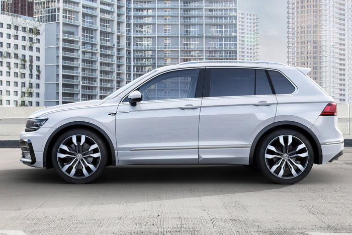 Названы цены нового VW Tiguan для РФ