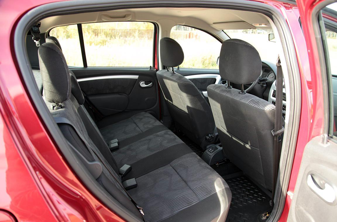 renault sandero 2010 1.4 багажник