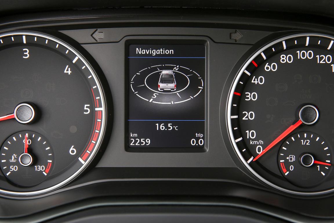 Volkswagen Amarok 2017 Панель приборов