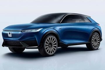 Honda показала прототип электрокроссовера
