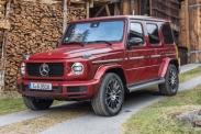 Mercedes G-класса укомплектуют «турбочетвёркой»