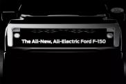 Ford анонсировал батарейный пикап F-серии