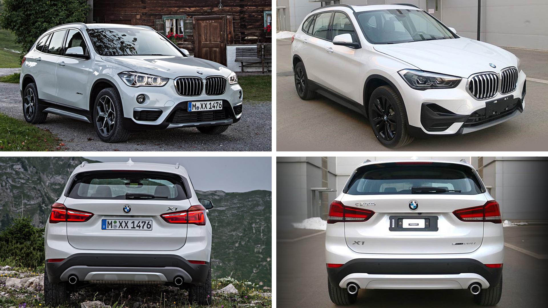 BMW X1 2016 и BMW X1 2020