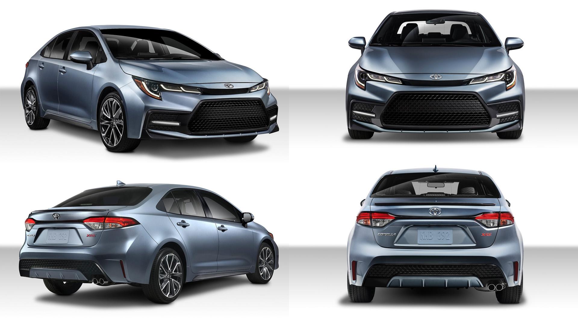 Toyota Corolla 2019 Североамериканская версия