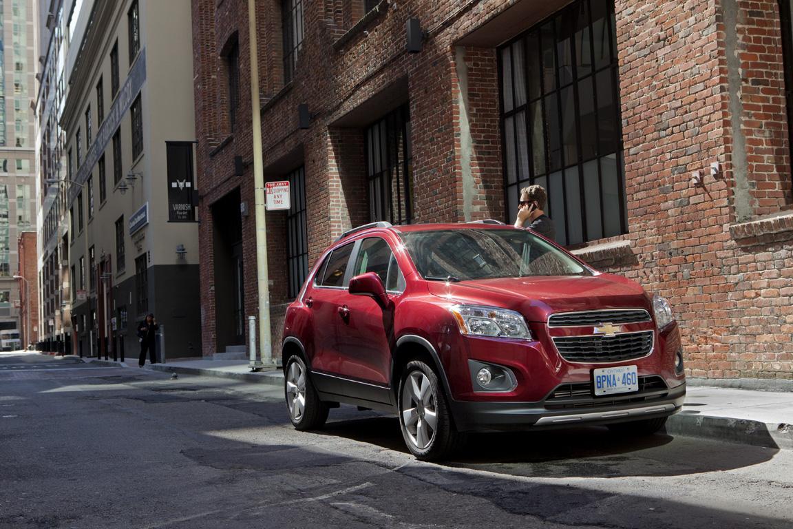 Chevrolet Tracker: Первый шаг в компактный SUV
