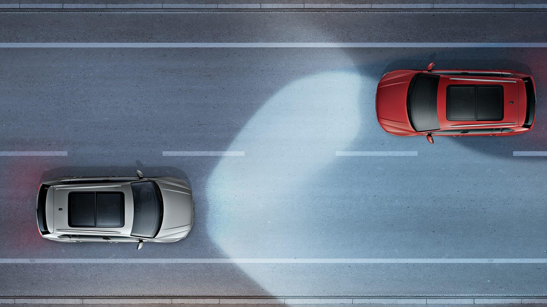 Dynamic Light Assist Volkswagen Tiguan