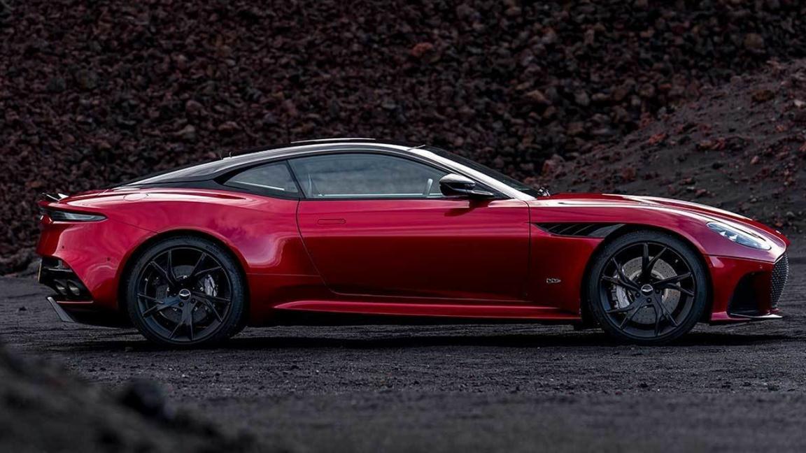 Aston Martin представил купе DBS Superleggera