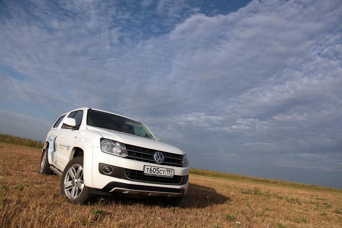 Volkswagen Amarok: спальный вагон