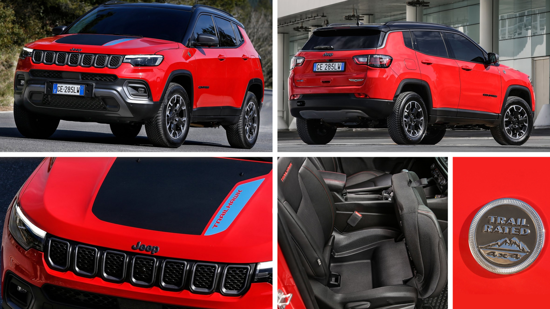Jeep compass trailhawk 2021