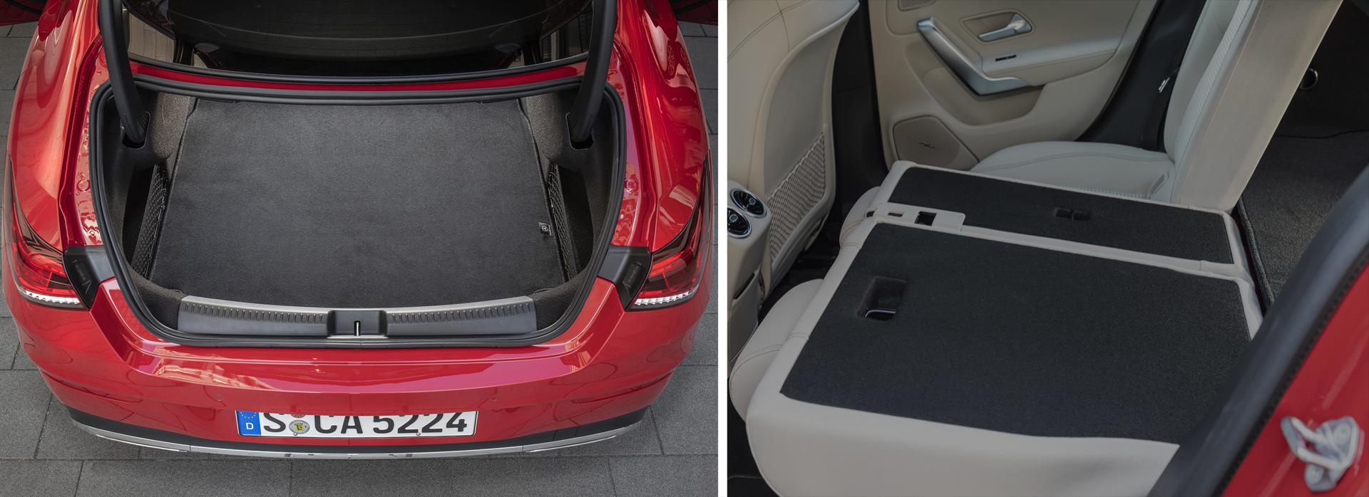 Новый Mercedes-Benz CLA: дверьё моё