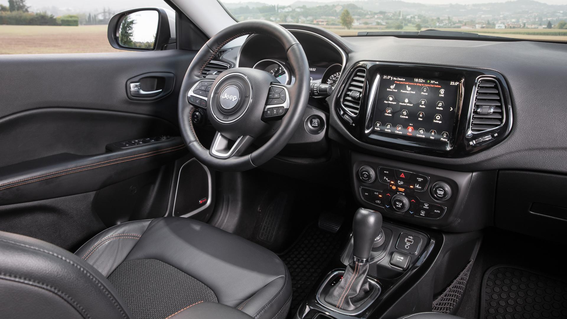 Jeep Compass: Мой Compass земной