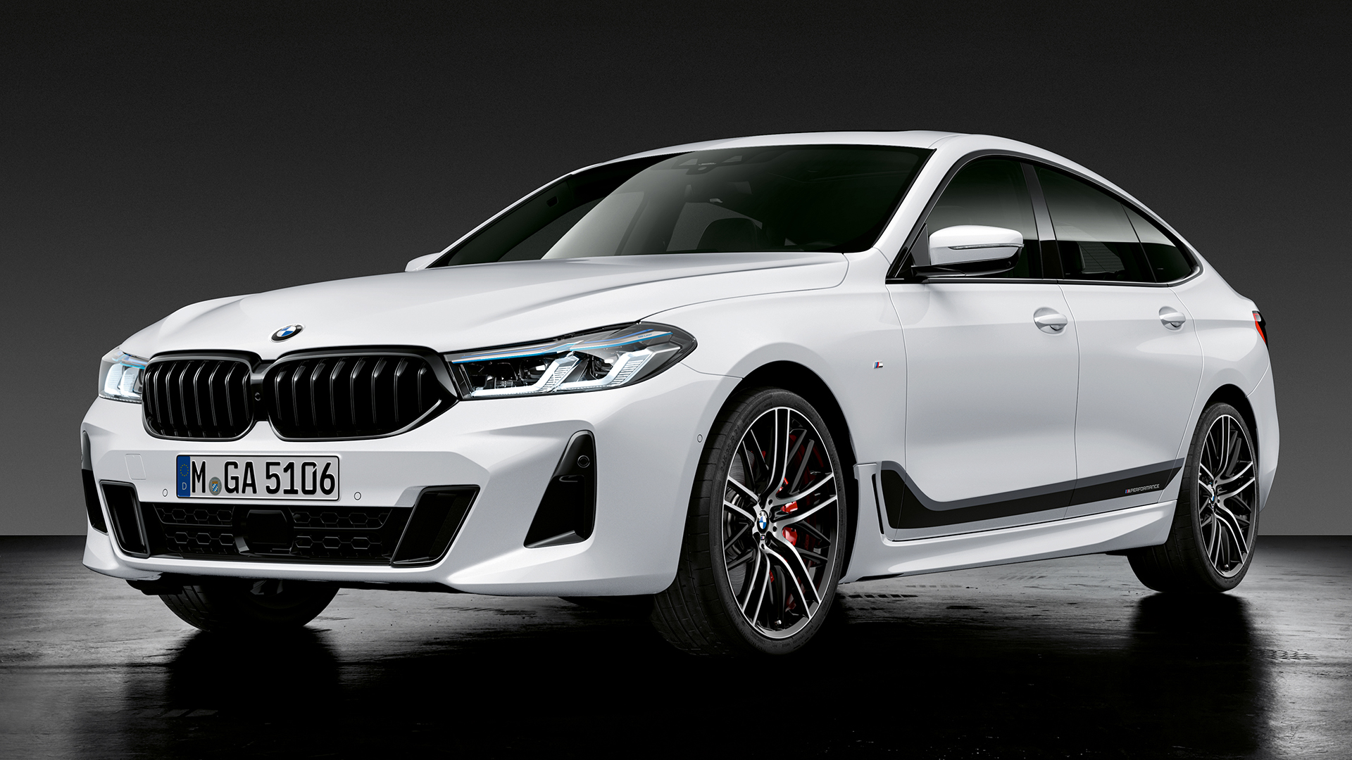 BMW 6 серии GT Исполнение M performance