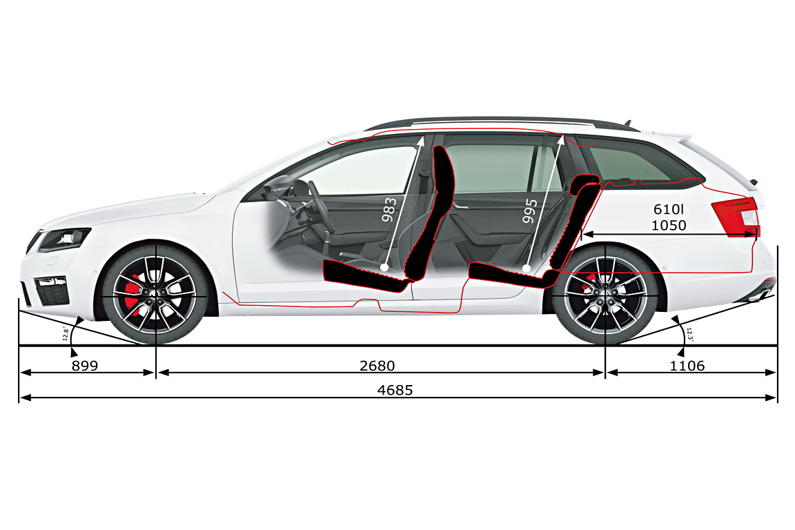 Skoda Octavia RS: Больше, чем просто Octavia