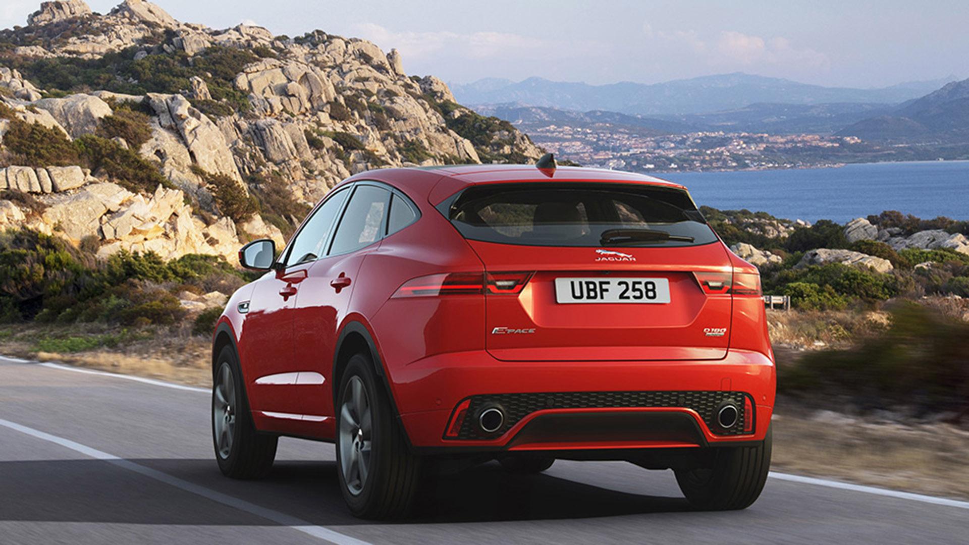 Jaguar E-Pace Chequered Flag