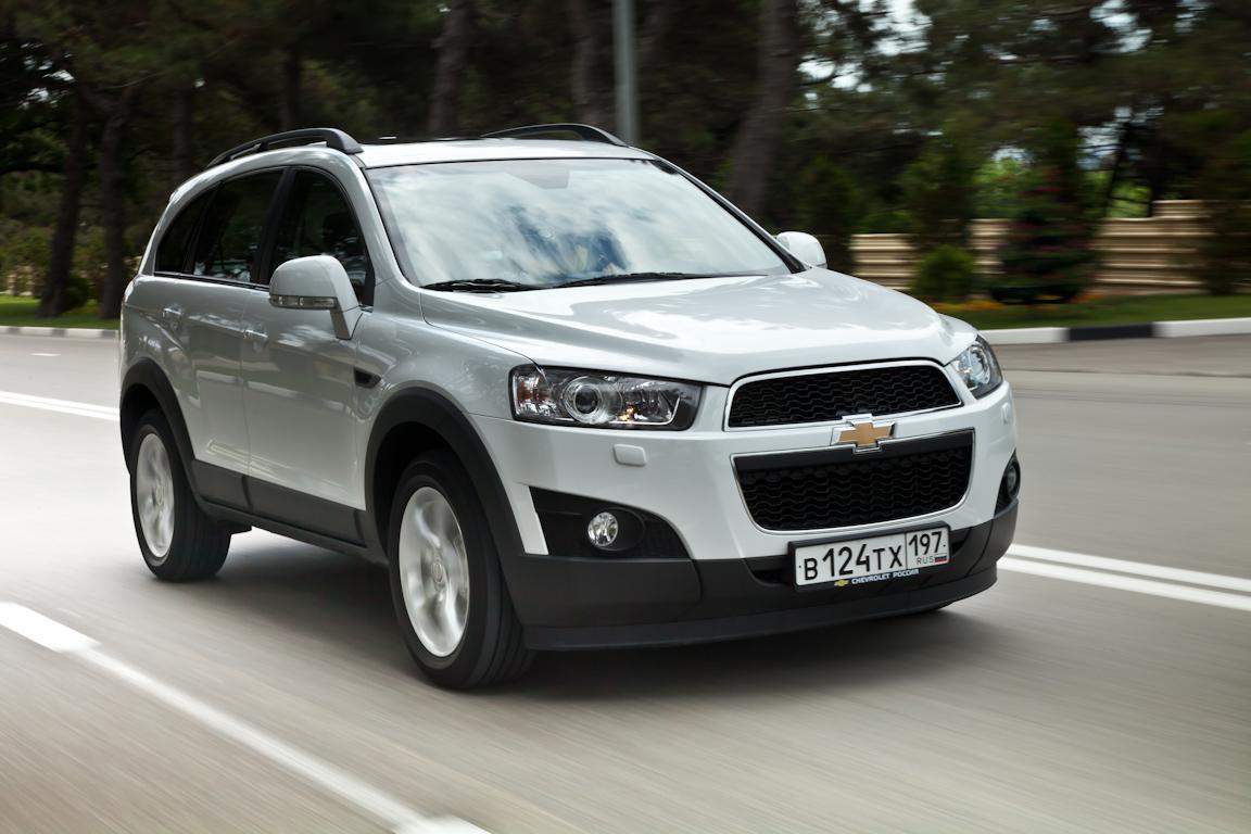 Chevrolet Captiva: Долго ждали