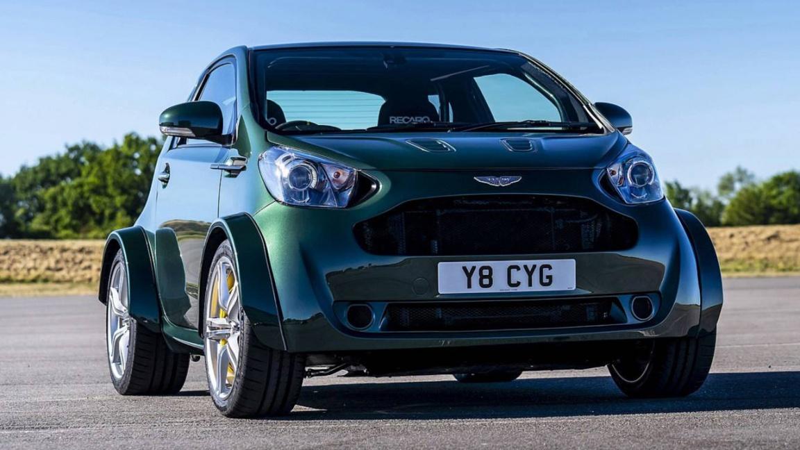 Aston Martin Cygnet V8 by Q