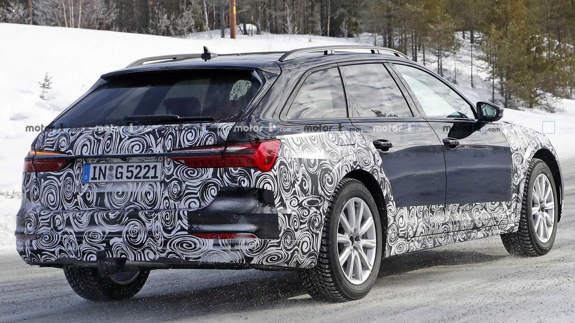 Audi A6 Allroad почти готов к дебюту