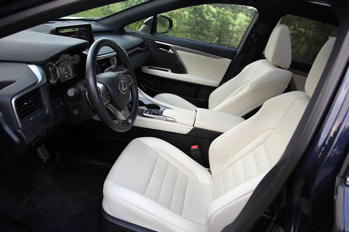 Lexus RX350 F Sport: Магия обольщения