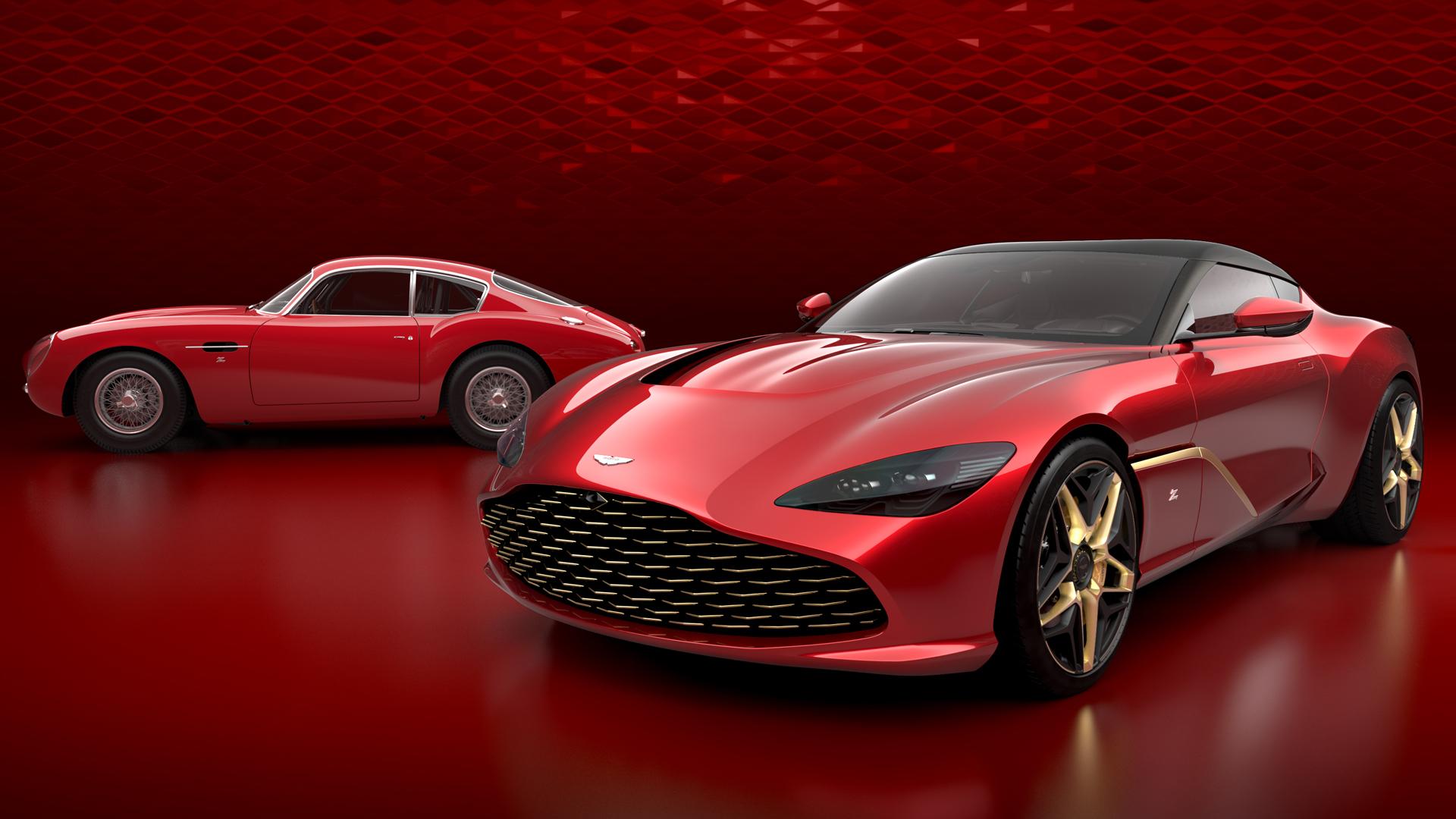 Aston Martin DBS GT Zagato и DB4 GT Zagato Continuation
