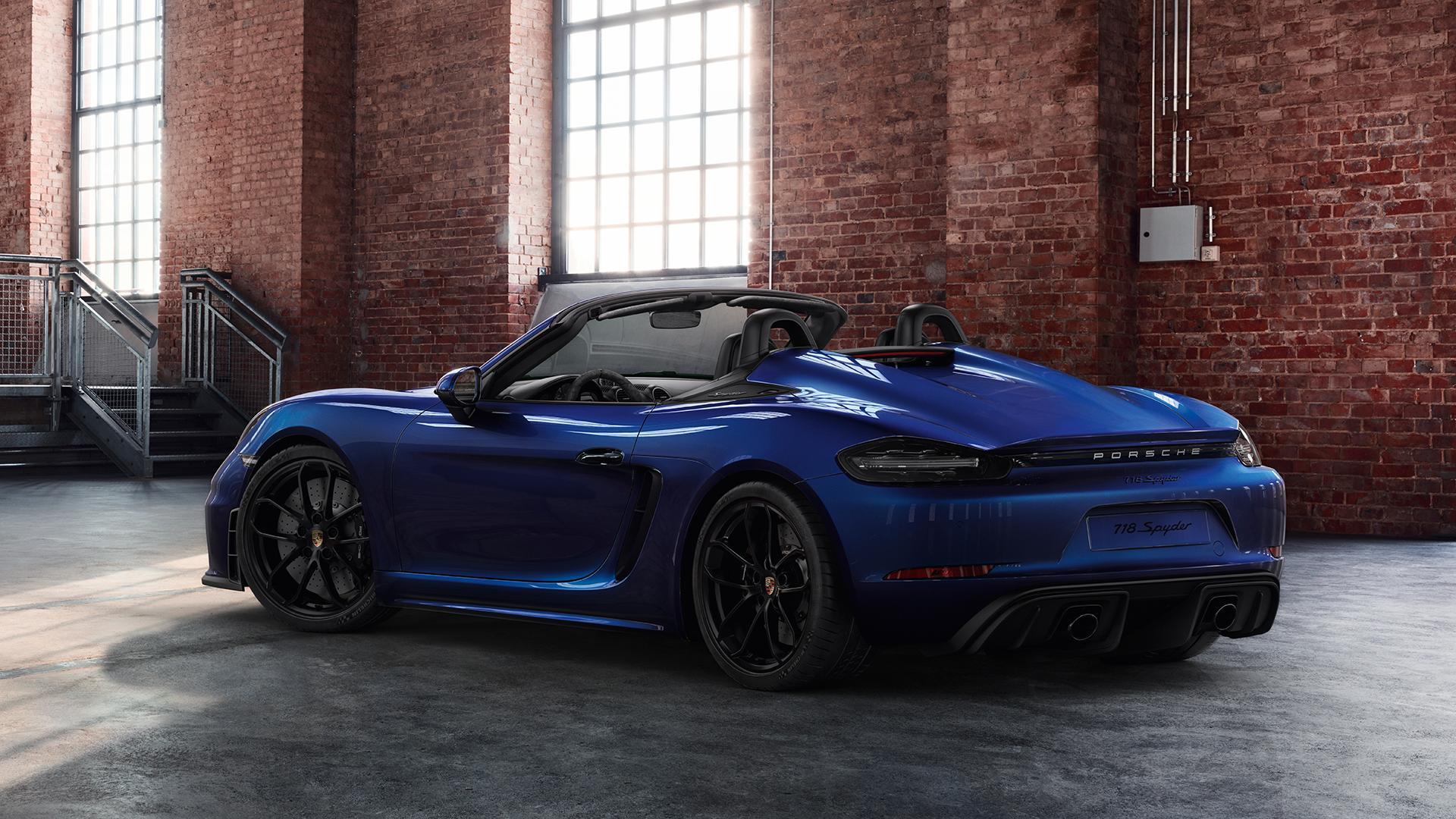 Porsche Exclusive Manufaktur 718 Boxster Spyder