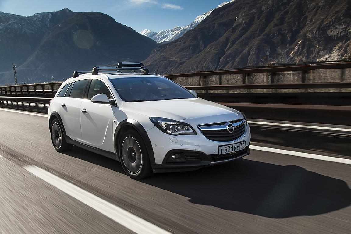 Opel Insignia Country Tourer: Для города и за его пределами.