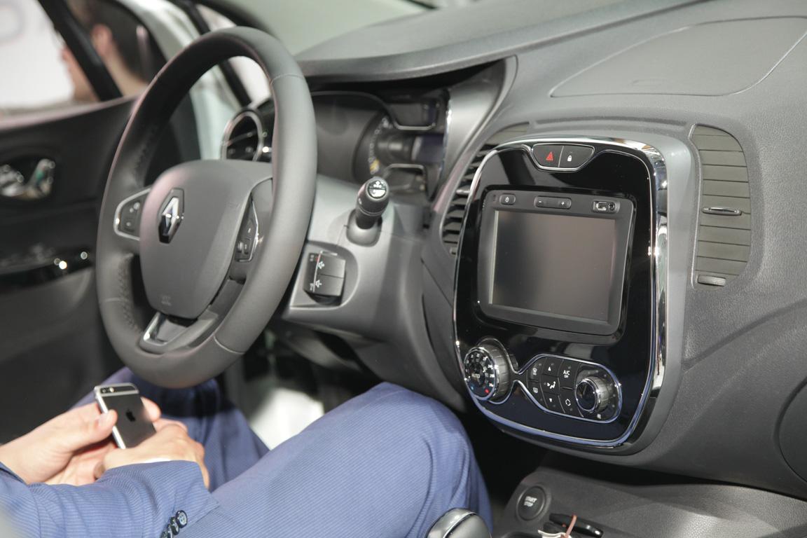 Renault  Kaptur 2016 Интерьер