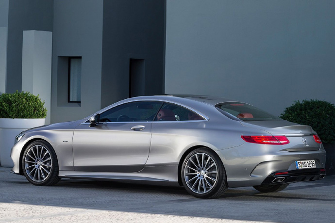 Mercedes-Benz S550 Coupe