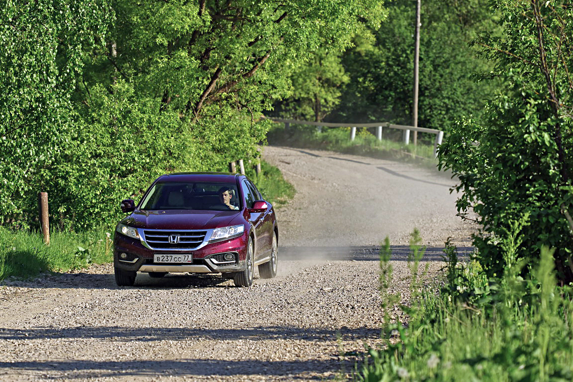 Honda Crosstour: чужой среди своих