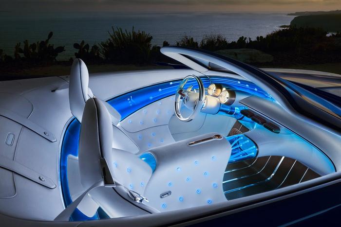 Mercedes-Benz Vision Maybach 6 Cabriolet Concept