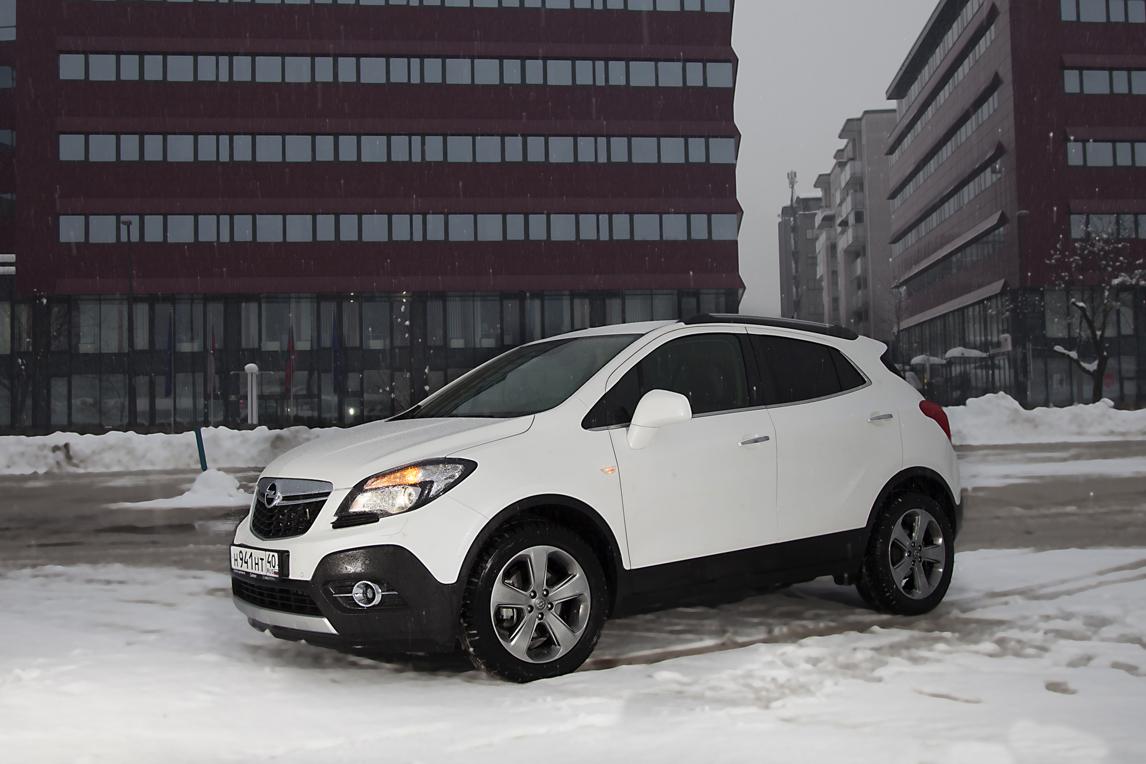 Opel Mokka:Бодрящий аромат