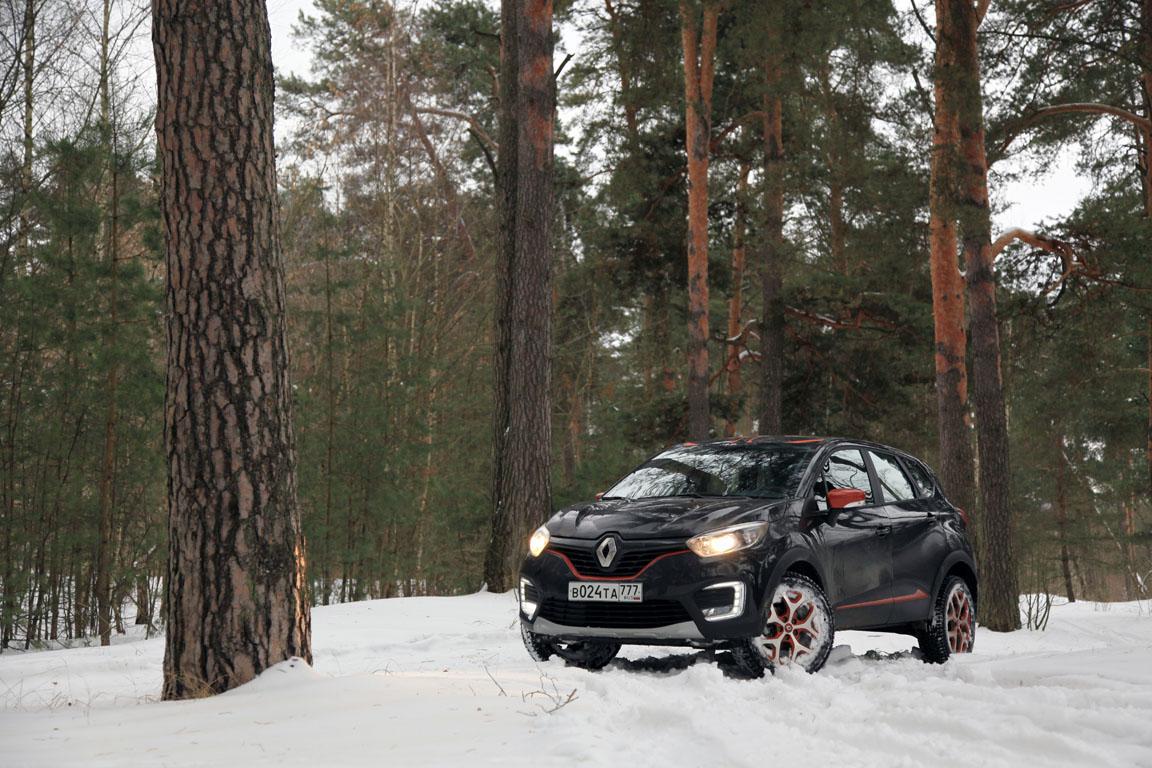 Renault Kaptur: Вариатор вам в руки