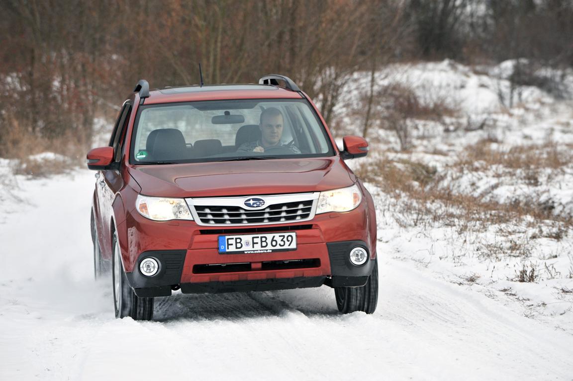 Тест-драйв Subaru Forester:И вашим, и нашим