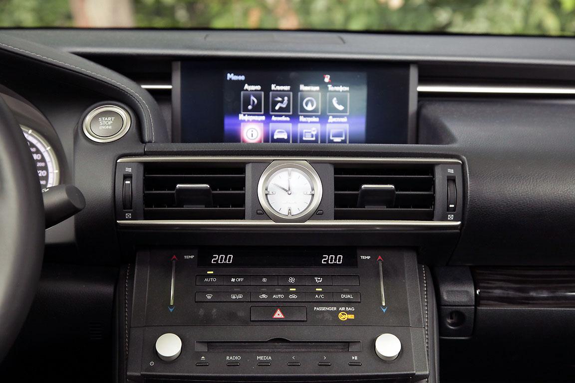 Lexus RC350: Точно в цель