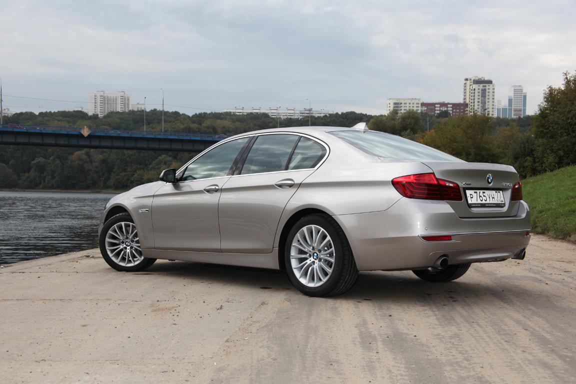 BMW 5er: Одним касанием пальца