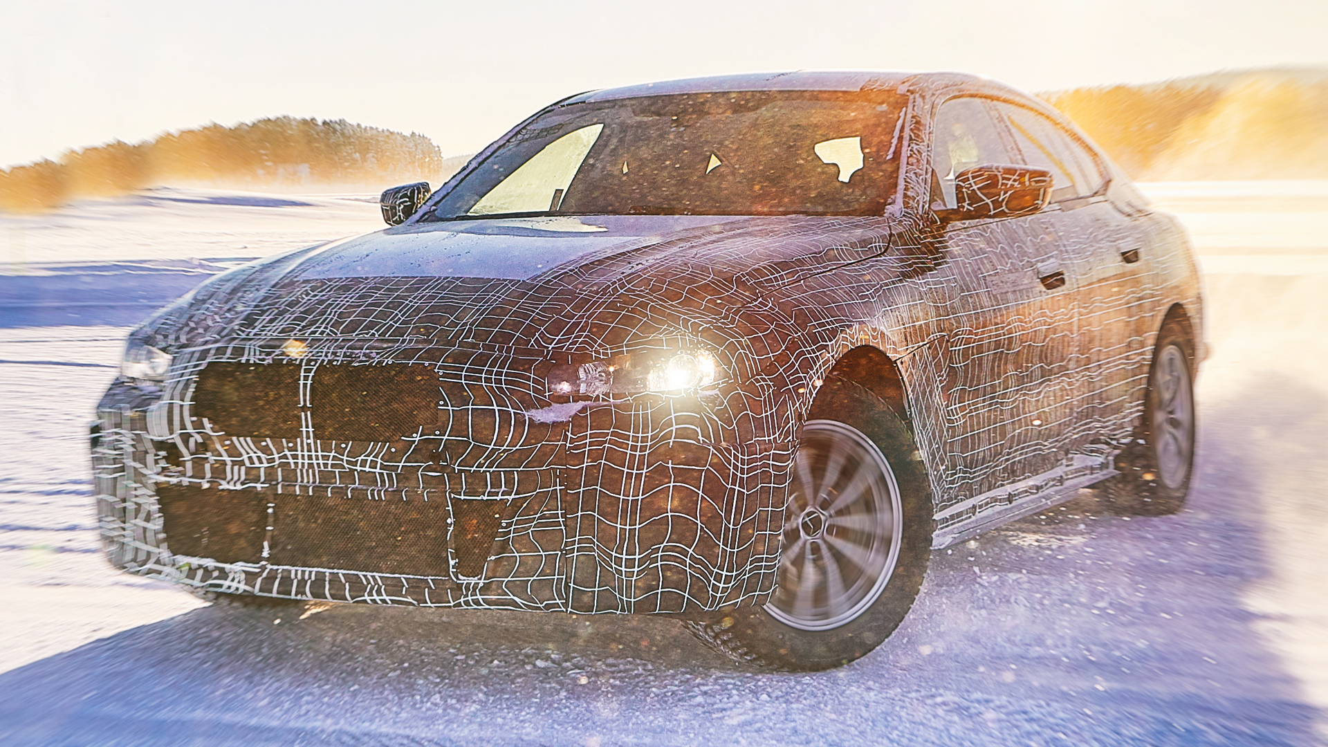 Предсерийный BMW i4