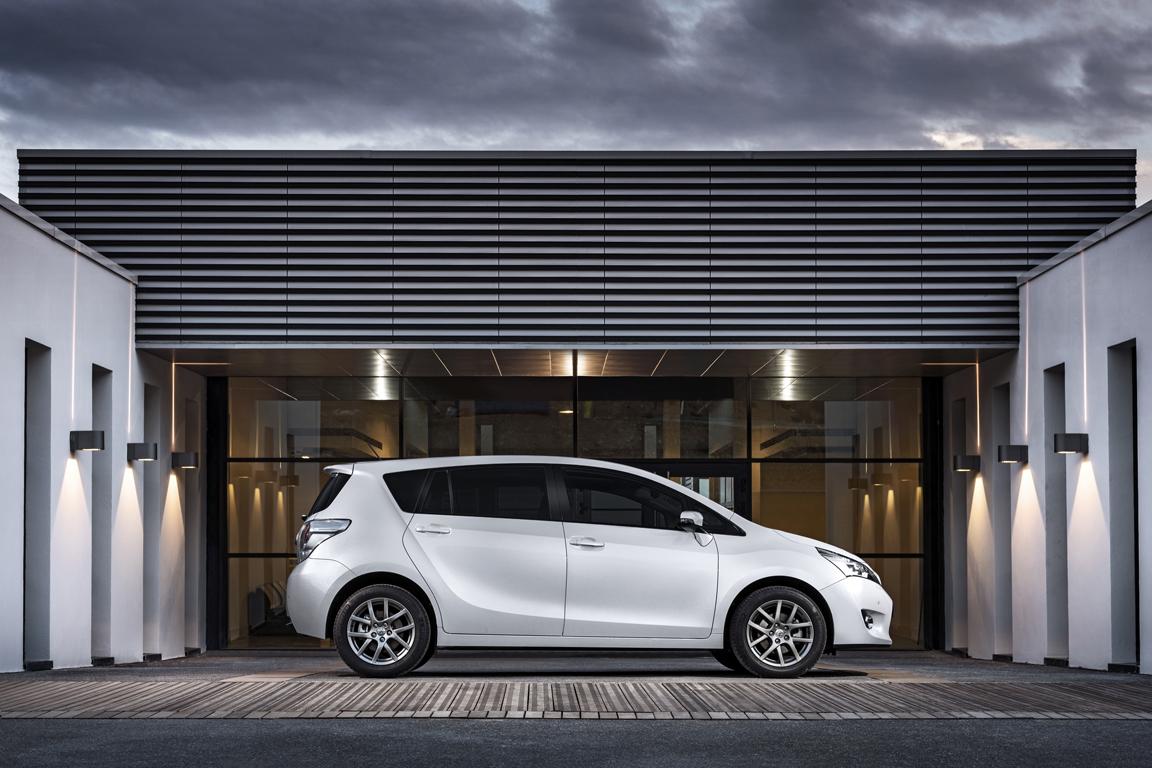 Toyota Verso: Смена имиджа