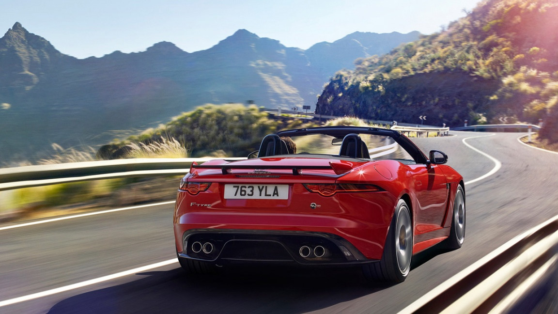 Jaguar F-Type Convertible 2017